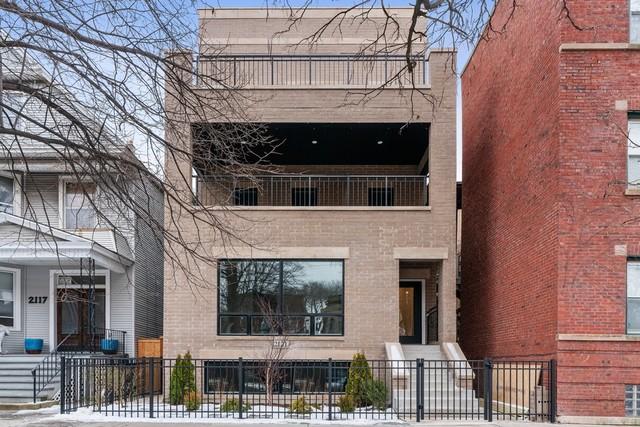 2121 W Addison Street Unit 3, Chicago IL 60618