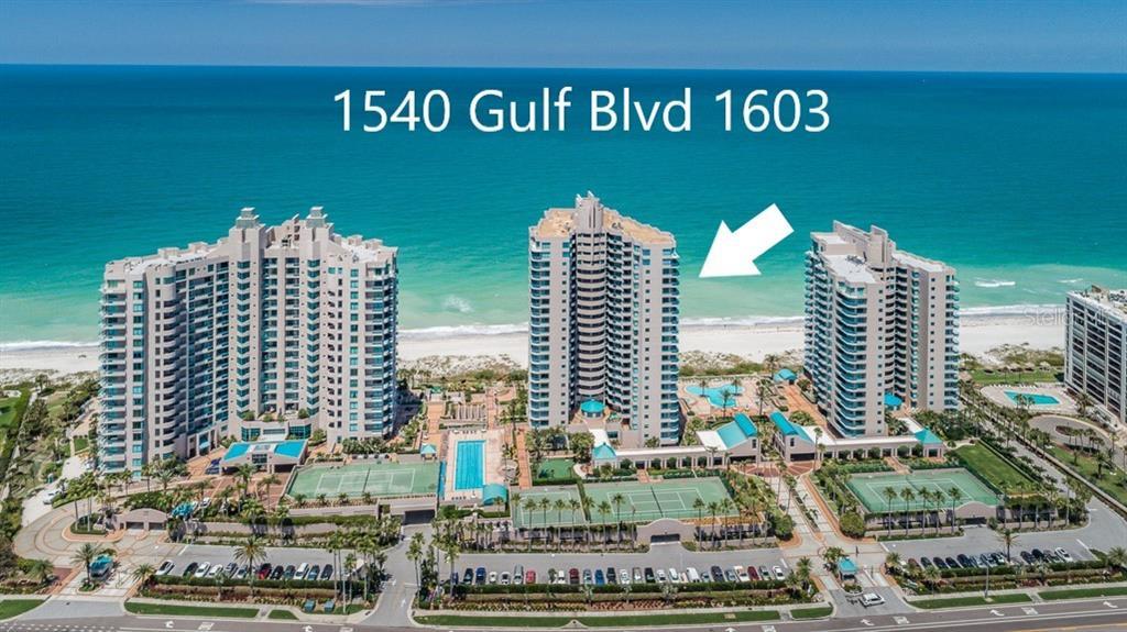 1540 GULF BLVD #1603, Clearwater FL 33767