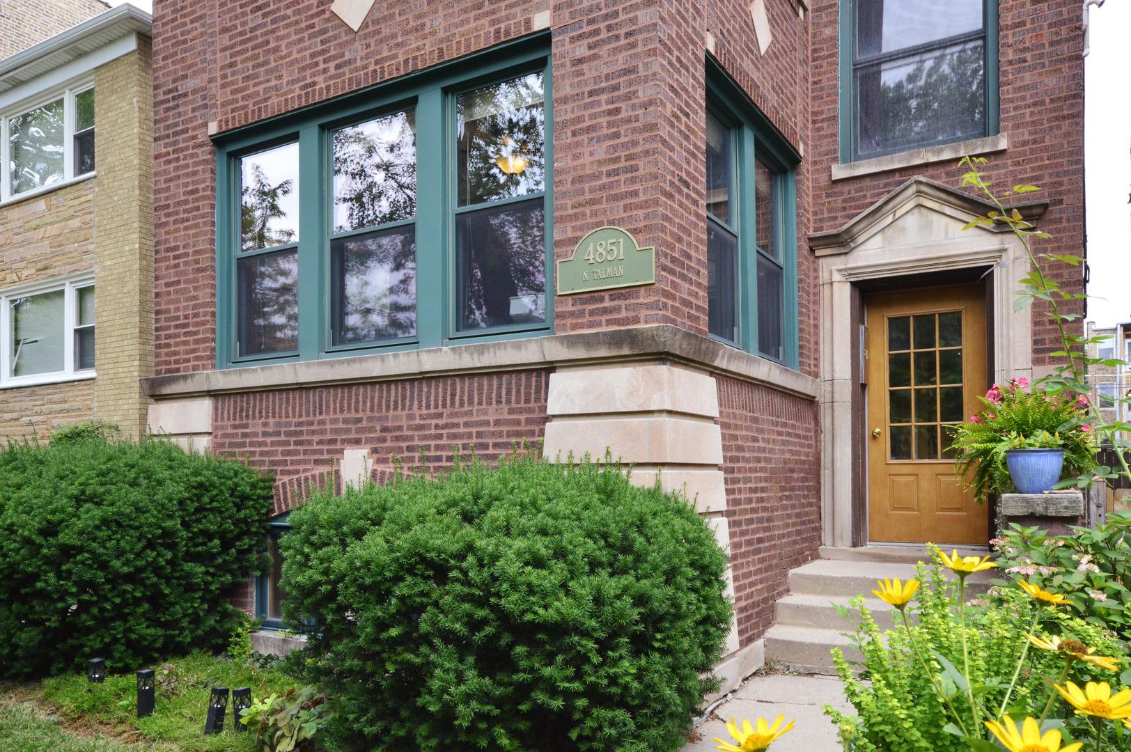 4851 N TALMAN Avenue Unit 1, Chicago IL 60625