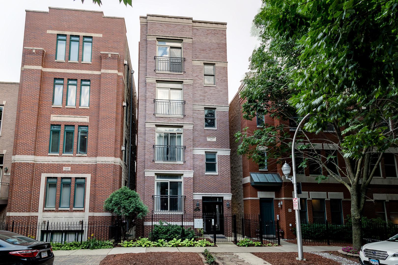 1347 W Fillmore Street Unit A, Chicago IL 60607