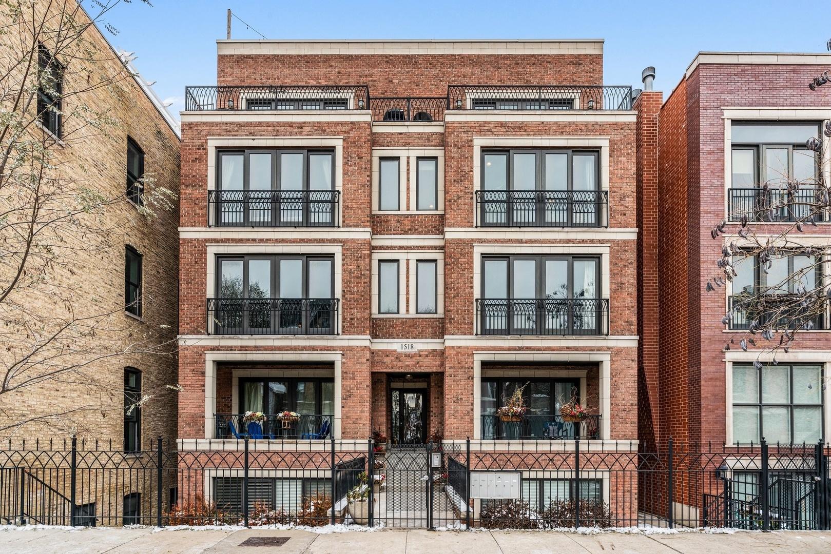 1518 W Cortez Street Unit 3W, Chicago IL 60642