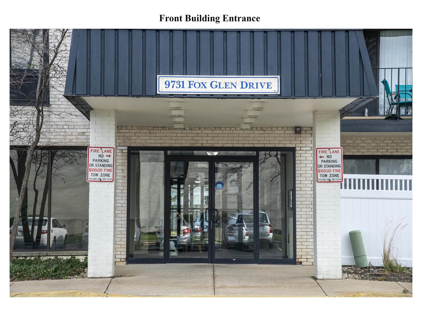9731 N Fox Glen Drive Unit 1D, Niles IL 60714